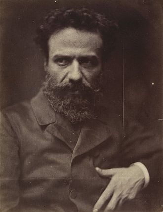 Alphonse Legros - Photograph of Legros by David Wilkie Wynfield