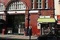 Leicester Square tube station, Cranbourn Street entrance - geograph.org.uk - 2142373.jpg