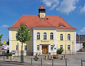 Liebertwolkwitz - Liebertwolkwitz: The council offices (Rathaus)