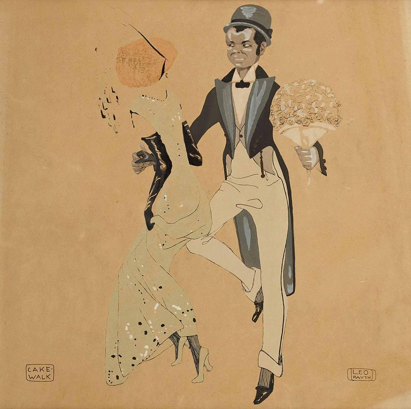 Cake-Walk, Leo Rauth, 1913