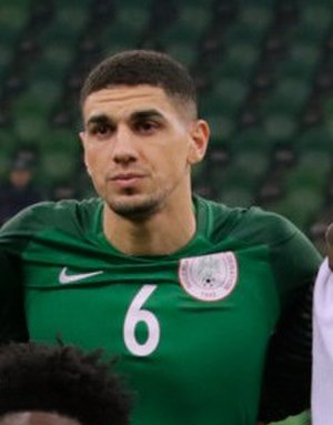 Leon Balogun - Balogun playing for Nigeria in 2017