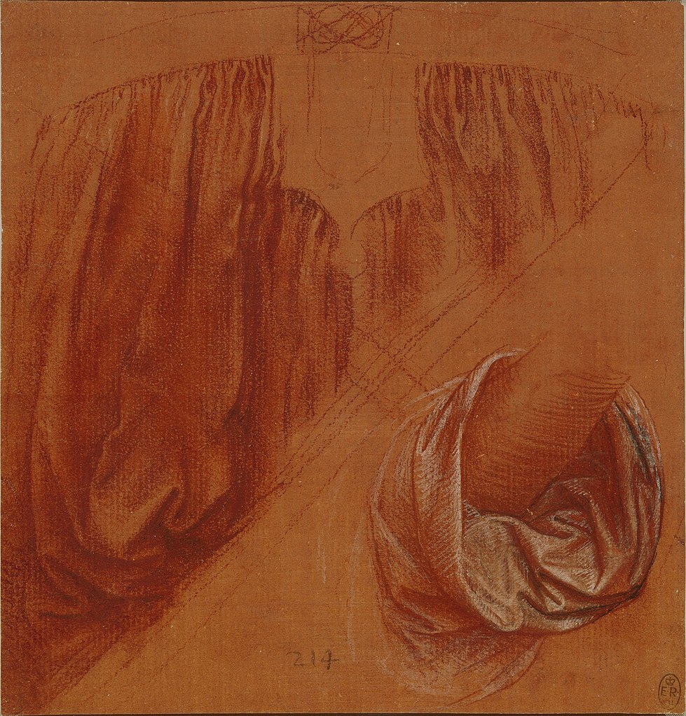 Leonardo Da Vinci Salvator Mundi Wikipedia >> File:Leonardo da Vinci, Study of drapery for Salvator Mundi.jpg - Wikipedia