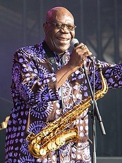 Manu Dibango Cameroonian musician
