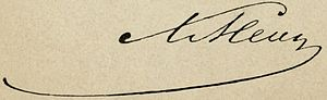 Lev Mei - Image: Lev Mey Signature