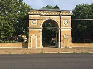 Lewis Place, St. Louis - Image: Lewis Place Historic District