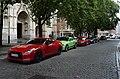 Lille Eté2016 supercars sur le parvis St Maurice.jpg