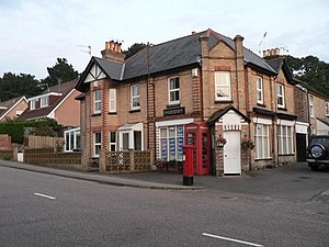 Lilliput, Dorset - the old post office