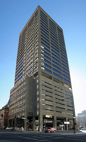 Lincoln Center (Denver) - The Lincoln Center office building in Denver, Colorado.
