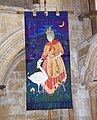 Lincoln Cathedral - Embroidered Banner depicting St. Hugh - geograph.org.uk - 690752.jpg
