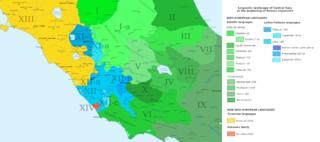 Volscian language language