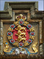 Linlithgow Palace Entrance - Order of the Garter.jpg
