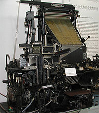 Linotype zetmachine