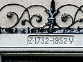 Linteau daté de 1732-1952. Hameau de Saint-Blaise. Bettlach.jpg
