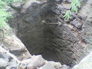 Shahada, Maharashtra - Image: Lithosphere In Well Near Shahada