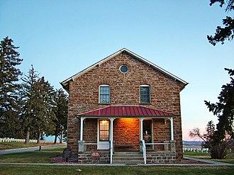 Little Bighorn Battlefield National Monument - Superintendent's Lodge, built 1894