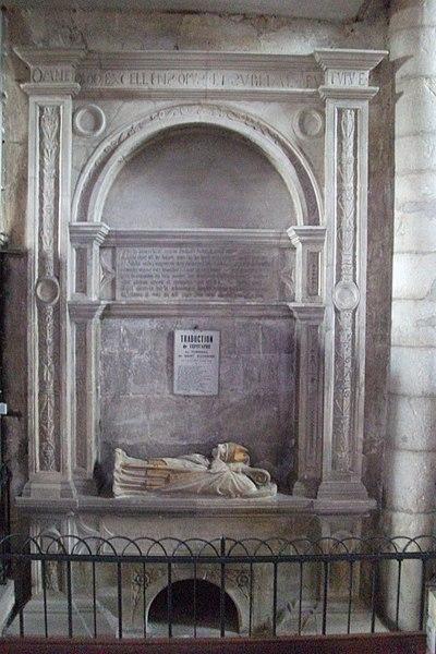 Liverdun, tombeau de st-Euchaire en l'église st-Pierre.