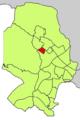 Localització de Los Almendros respecte del Districte de Ponent.png
