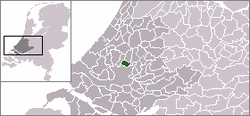 Location of Bergschenhoek
