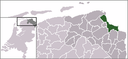 Location of Holwierde