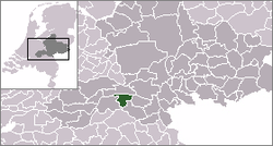 Location of Druten
