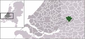 Ameide - Image: Locatie Zederik