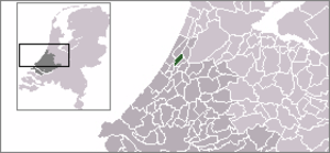 Voorhout - Location of Voorhout