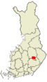 Location of Leppävirta in Finland.png