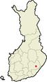 Location of Sulkava in Finland.png