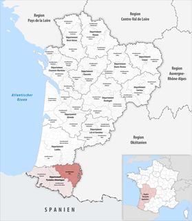 Arrondissement of Pau Arrondissement in Nouvelle-Aquitaine, France