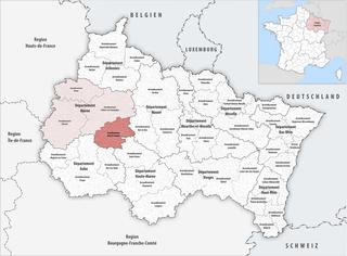 Arrondissement of Vitry-le-François Arrondissement in Grand Est, France