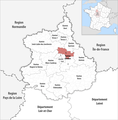 Locator map of Kanton Chartres-1 2019.png