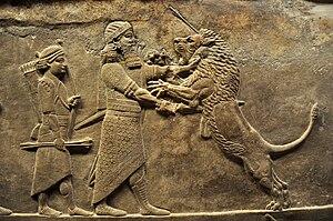 Loewenjagd -645-635 Niniveh