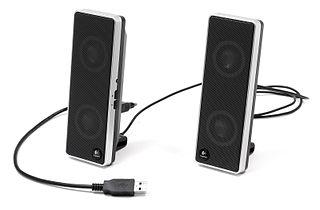Computer speakers image
