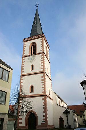 Lohr am Main - The town's parish church, St. Michael