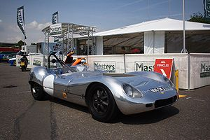 Lola Cars - Lola's first prototype, built in 1958