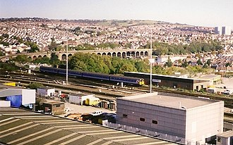 East Coastway line - London Road Viaduct in 1996