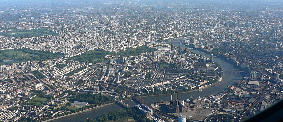 London from above MLD 051002 001
