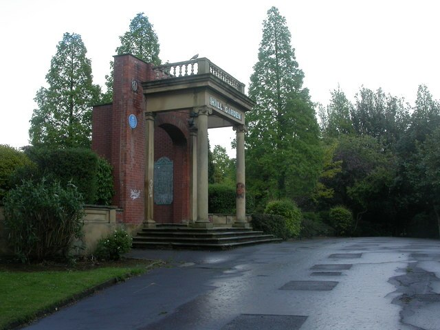 Longford Park, arch - geograph.org.uk - 1312209