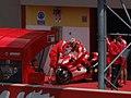 Loris Capirossi at the Ducati Marlboro Team garage 2006 Mugello 4.jpg