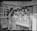 Los Angeles, California. Scene in an orphanage for children of Japanese ancestry prior to evacuation. - NARA - 536789.tif
