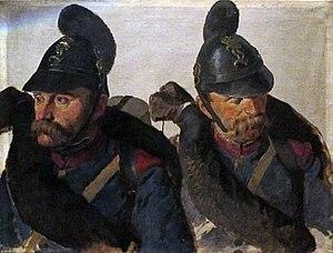 Louis Braun - Bavarian Infantrymen