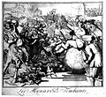 Louis XIV receives an enema while sitting on a globe of the Wellcome L0020616.jpg