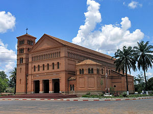 Religion in the Democratic Republic of the Congo - The Sts. Peter and Paul Cathedral, Lubumbashi