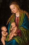 Lucas Cranach (I) - Madonna mit Kind und Johannesknaben (Bonnefantenmuseum).jpg