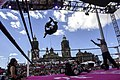 Lucha libre in front of the Zocalo.jpg