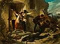 Luigi Ademollo un episodio della battaglia di s martino 1861 P Pitti.jpg
