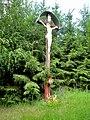 Lukov, kříž v lese.jpg
