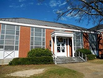 Luverne, Alabama - Image: Luverne Alabama Post Office (36049)