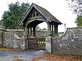 Lych gate, The Church of St Michael the Archangel, North Cadbury - geograph.org.uk - 1013028.jpg