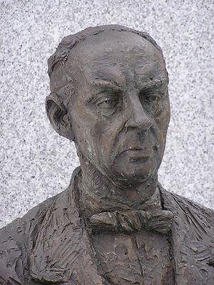 Sándor Márai. Sándor Márai (detail of his stat...